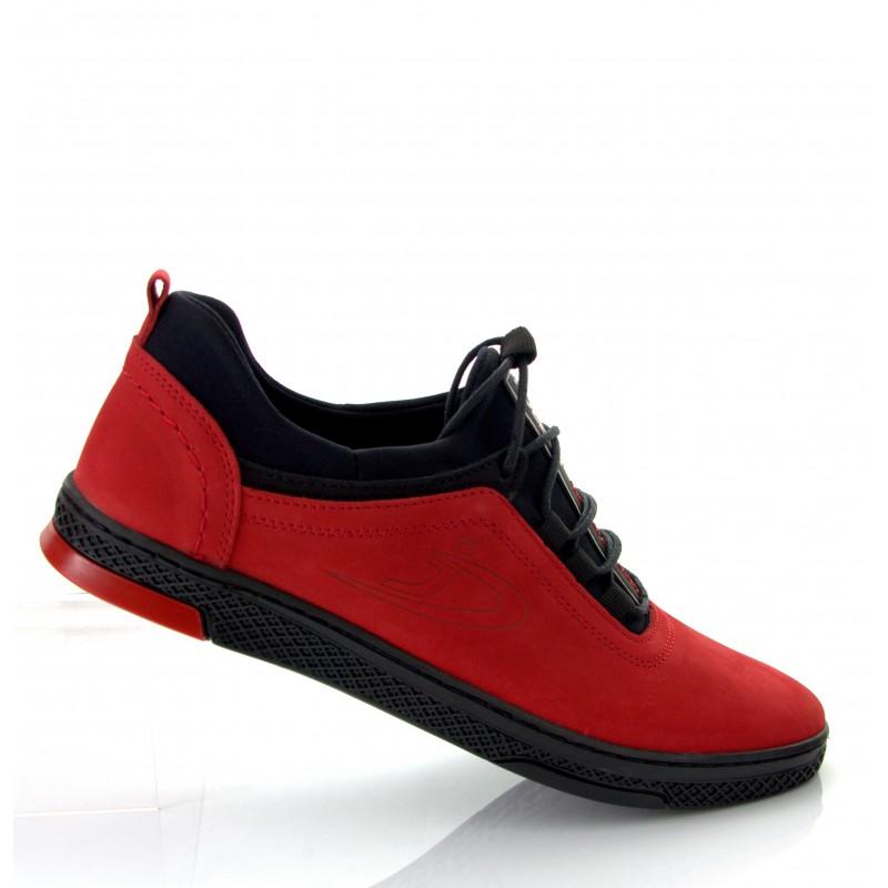 PÓŁBUTY męskie POLSKIE - K24 Polbut czerwony