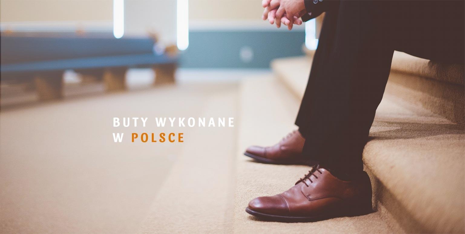 Buty wykonane w Polsce